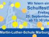 Plakat Schulfest 2015