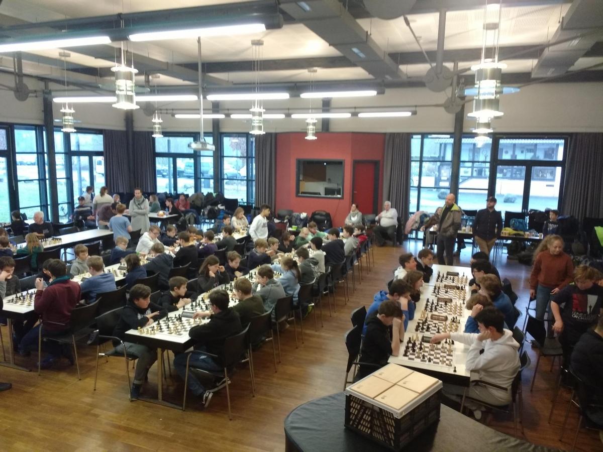 Marburger Schulschachmeisterschaft_7.2.2019_Panorama